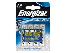 ENERGIZER Piles Lithium FR6 AA 1,5V x 4