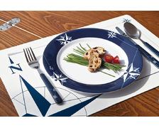 MARINE BUSINESS Assiettes plates NORTHWIND les 6