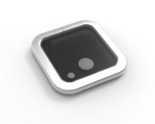 GOIOT Opal T10 gris satiné 260 x 260mm