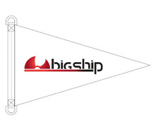 BIGSHIP Pavillon logoté Bigship