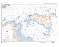 SHOM 6606 à plat Canal de Sicile