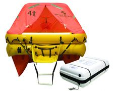 OCEAN SAFETY Radeau hauturier ISO - P SOLAS B - 6p container