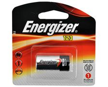 ENERGIZER Piles Lithium CR123 3V