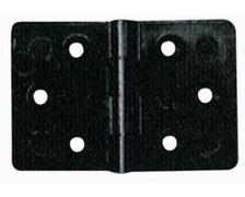 NUOVA RADE Charnière polyamide carrée 60x40mm - vrac