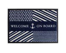 MARINE BUSINESS Tapis Navy