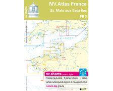 NV Charts Atlas St. Malo aux sept îles FR3