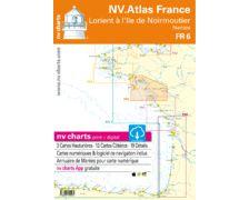 NV Charts Atlas Lorient à l'île de Noirmoutier FR6
