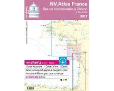 NV Charts Atlas Iles de Noirmoutier à Oléron FR7