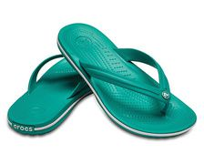 CROCS Crocband Flip - Tropical Teal/W - 38/39