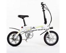 """Mpman Vélo avec assistance électrique pliant jantes 16""""Blanc"""