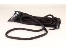 LIROS Amarre Handy Elastic 12mm noire longueur 6m