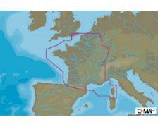 C-MAP Carte France Côtes et Eaux Douces EW-Y065