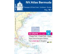 NV Charts ATLAS Bermuda, USEast Coast, Caribbean, Europe16.1
