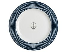 MARINE BUSINESS Assiettes plates SAILOR SOUL, les 6