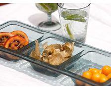 MARINE BUSINESS Set snack MOON Aqua, les 2
