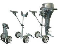 BIGSHIP Chariot de transport moteur pliable