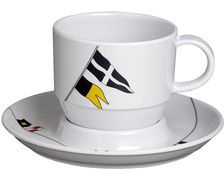 MARINE BUSINESS Regata tasses à café et soucoupes (x6)
