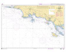 SHOM 7067 à plat De la Chaussée de Sein à Belle île
