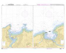 SHOM à plat 7431 Baies de Fontarabie et Saint Jean de Luz