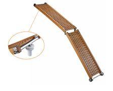 TREM Passerelle pliable légère en caillebotis 2m