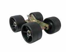 Ensemble de 4 galets Ø120 x 75 mm balancier pour chandelle 4