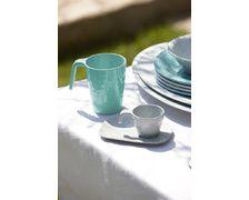 MARINE BUSINESS Mugs SUMMER blancs/acqua (x6)