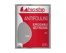 BIGSHIP Antifouling erodable Gris 2,5L