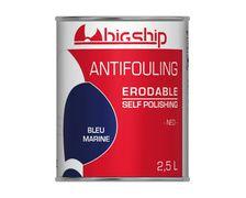 BIGSHIP Antifouling erodable bleu marine 2,5L