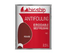 BIGSHIP Antifouling erodable rouge 2,5L