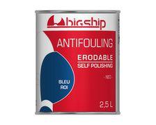 BIGSHIP Antifouling erodable Bleu roi 2,5L