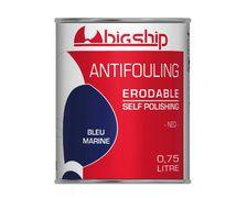BIGSHIP Antifouling erodable Bleu marine 0,75L