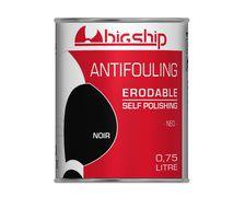 BIGSHIP Antifouling erodable Noir 0,75L
