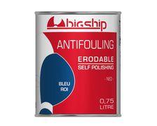 BIGSHIP Antifouling erodable Bleu roi 0,75L