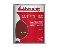 BIGSHIP Antifouling matrice dure Rouge 0,75L