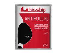 BIGSHIP Antifouling matrice dure Noir 2,5L