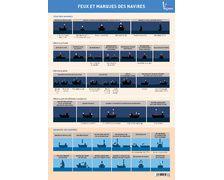 VAGNON Feux et marques de navires (5 planches adhésives)