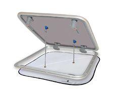 PLASTIMO Rideau occultant/moustiquaire 800x800 mm pour panne