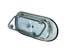 PLASTIMO Rideau occultant/moustiquaire 490x230 mm pour hublo