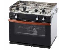 ENO Gascogne four inox - 2 feux et grill