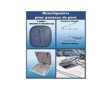 PLASTIMO Moustiquaire 800x800 mm pour panneau de pont
