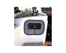 PLASTIMO Moustiquaire 490x230 mm pour hublot, les 2