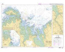 SHOM à plat 7095 Baie de Morlaix - de l'île de Batz à la Poi