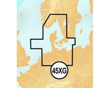 NAVIONICS+ SD Card 45XG Skagerrak & Kattegat