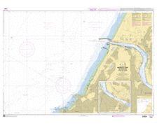 SHOM à plat 7430 Abords et port de Bayonne