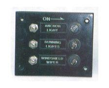 Tableau électrique 3 interrupteurs | Résistant à l'eau