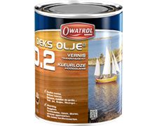OWATROL Decks Olje D.2 Vernis brillant intense 2,5L