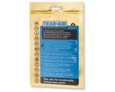 TEAR AID Patch autocollant TYPE A pour tissus, toiles,