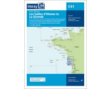 IMRAY Carte C41 Les Sables d'Olonne to la Gironde