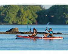 TAHE OUTDOORS Kayak Borneo gris Pack 2+1 places