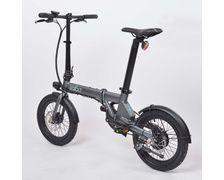 EOVOLT Vélo électrique City anthracite